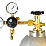3741-BR-Taprite Double Gauge Primary Co2 Beer Regulator for Home Dispense