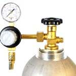 T741-Taprite Commercial Grade Single Gauge Co2 Draft Beer Kegerator Regulator